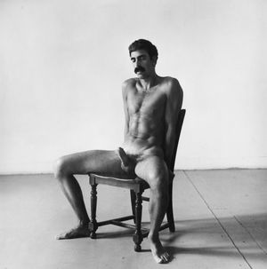 Seated Nude by Peter Hujar contemporary artwork photography