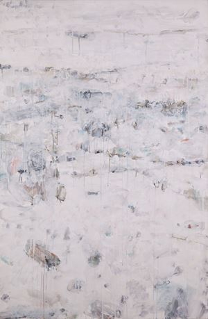 Isolated Hill in Early Spring No. 2 《孤山早春‧貳》 by Yan Shanchun contemporary artwork