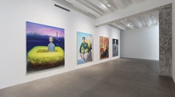 Contemporary art exhibition, Wang Xingwei, Shenyang Night 沈阳之夜 at Caochangdi Space, Beijing