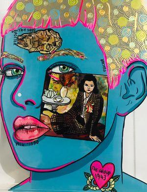Doris Lusk by Sam Mitchell contemporary artwork