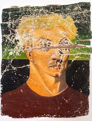 Bensemann on Cadmium White by Derek Cowie contemporary artwork