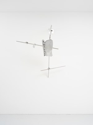 Scruff of the Neck (Stopgap) by Nairy Baghramian contemporary artwork
