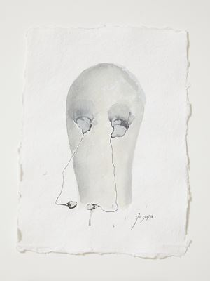 Head[case] working drawing 83 by Julia Morison contemporary artwork