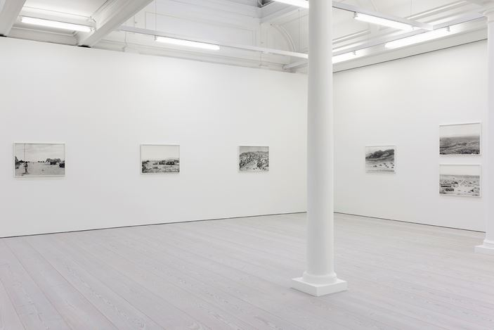 Exhibition view: An-My Lê, Silent General, Marian Goodman Gallery, London (24 January–29 February 2020). Courtesy Marian Goodman Gallery.