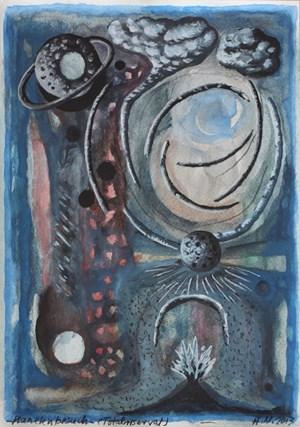 Planetenbesuch (Totalreservate) by Hartmut Neumann contemporary artwork
