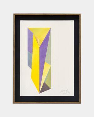 Kaleidoskop II (Farben 7. Dezember 2020) by Jorinde Voigt contemporary artwork