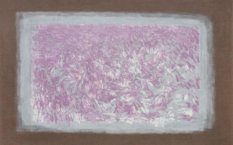 Li Gang,Sun (2018) (detail). Oil on linen. 200 x 300 cm. Courtesy Galerie Urs Meile.