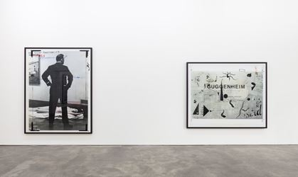 Exhibition view: Thomas Ruff, New Works, Sprüth Magers, Berlin (7 July–2 September 2017). © Thomas Ruff / VG Bild-Kunst, Bonn, 2017. Courtesy Sprüth Magers, Berlin. Photo: Timo Ohler.