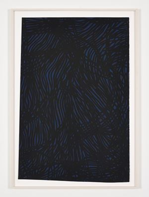 Tangled Bands by Sol LeWitt contemporary artwork