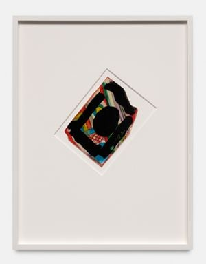 Diamond Cliff by Matt Connors contemporary artwork