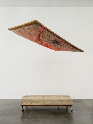 Guest bed (with Rudolf Polansky) by Franz West contemporary artwork