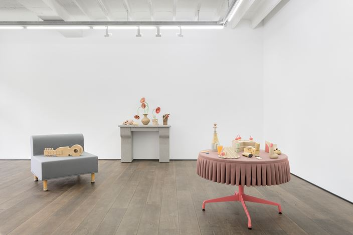Exhibition view: Genesis Belanger, The Party's Over, rodolphe janssen, Brussels (14 November 2020–30 January 2021). Courtesy rodolphe janssen.