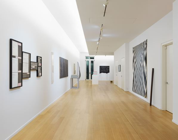 Exhibition view: Group Exhibition, Towards Infinity: 1965-1980, Simon Lee Gallery, New York (2 May–16 June 2018). Courtesy the artists and Simon Lee Gallery.