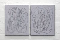 diary (front/back) II by Campbell Patterson contemporary artwork painting