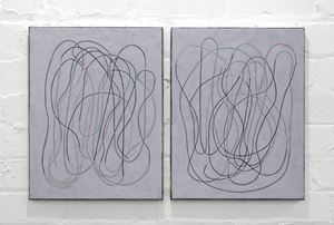 diary (front/back) II by Campbell Patterson contemporary artwork