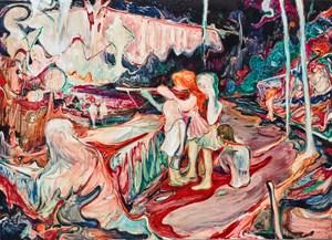 Shooting Girls by Rao Fu contemporary artwork