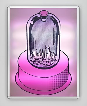Lenticular 3 by Mike Kelley contemporary artwork