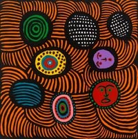An Offering From My Heart to Michelle Obama by Yayoi Kusama contemporary artwork painting