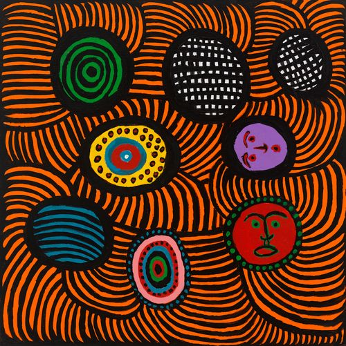 An Offering From My Heart to Michelle Obama by Yayoi Kusama contemporary artwork