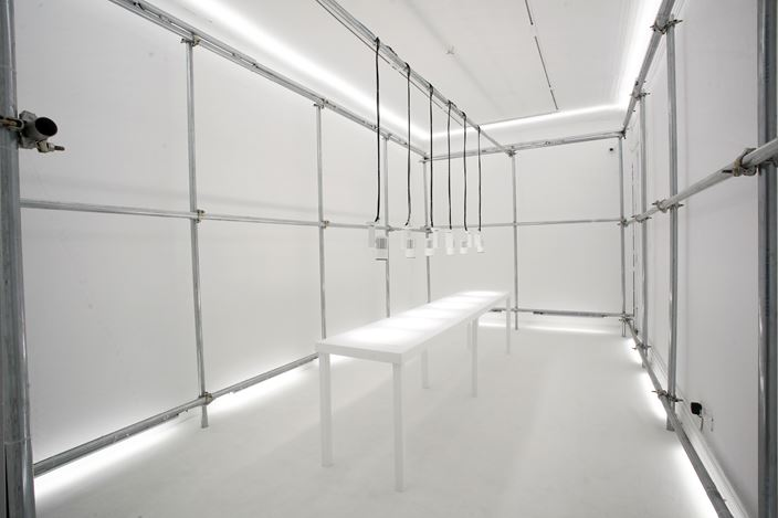 Exhibition view: Zhang Peili, The Annual Report of OCD 關於強迫症的年度報告, Rén Space, Shanghai (6 November 2019–6 May 2020). Courtesy Rén Space.