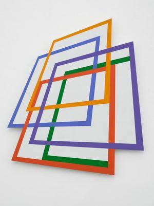Quod Libet 47 by Dóra Maurer contemporary artwork painting, sculpture