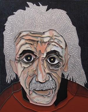 Albert Einstein by Lee Waisler contemporary artwork