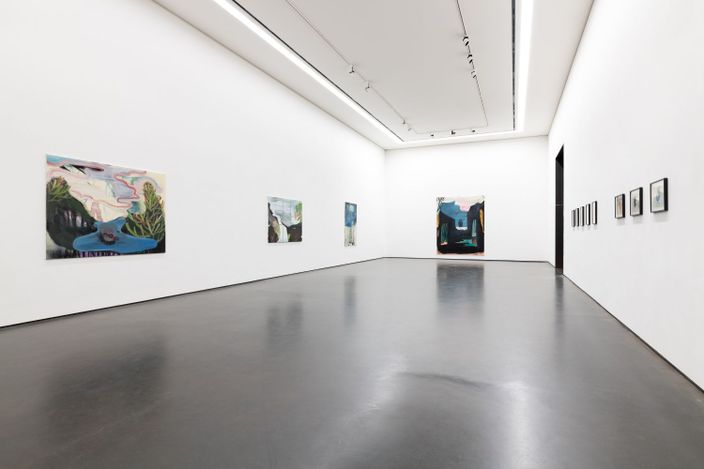 Exhibition view: Yi Youjin, junction, Wooson Gallery, Daegu (1 April–11 June 2021). Courtesy Wooson Gallery.