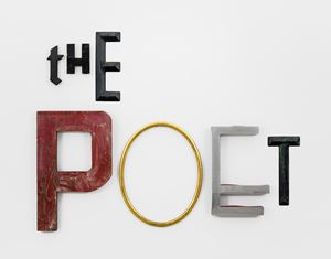 THE POET by Jack Pierson contemporary artwork