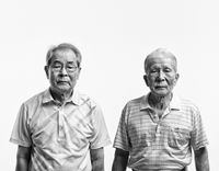 Eternal Family. Lee Baegeun (Father) by BYUN Soonchoel contemporary artwork photography