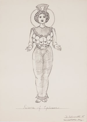 Diana of Ephesus (Rome Wasn't Built in a Day) by Robert Colescott contemporary artwork