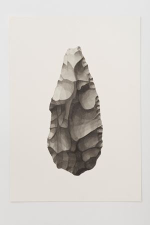 Ungrounded object 1 (Olduvai Axe I) by Frances Richardson contemporary artwork