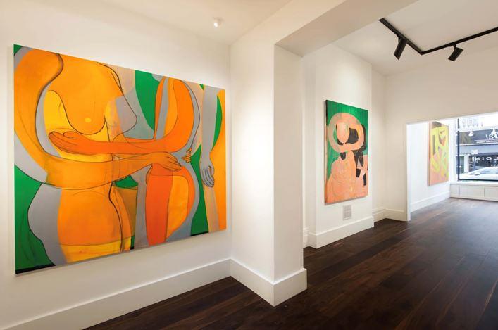Exhibition view: Tahnee Lonsdale, Tender Loin,Dellasposa Gallery, London (5 June–1 August 2020). Courtesy Dellasposa Gallery.