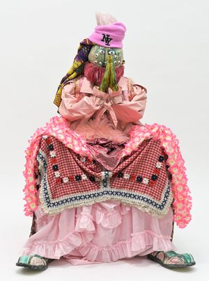 Catherine the Peter by Kris Lemsalu contemporary artwork