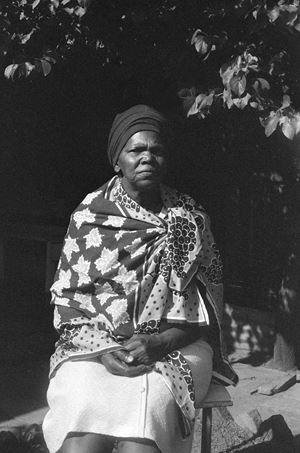 All Our Mothers: Virginia Mngoma, Alexandra,Johannesburg by Sue Williamson contemporary artwork