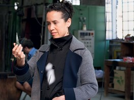 Shard lines: sculptor Sarah Sze makes a sharp turn to glass at Berengo Studio in Murano