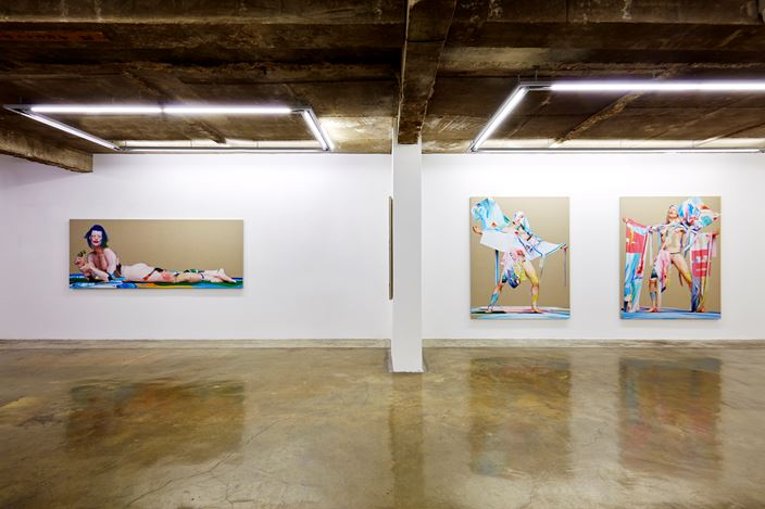 Exhibition view: Matthew Stone, small awakenings, CHOI&LAGER Gallery, Seoul (27 June–25 July 2019). Courtesy CHOI&LAGER Gallery.