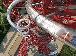 Tunnel vision: Carsten Höller adds record-breaking slide to Anish Kapoor's ArcelorMittal Orbit
