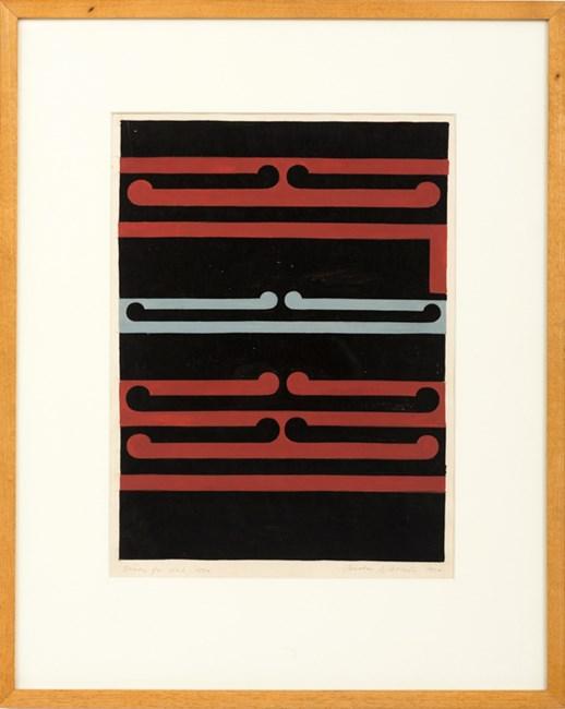 Study for No.2 by Gordon Walters contemporary artwork