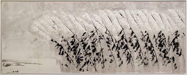 Reeds by the Water 《一列葦》 by Yeh Shih-Chiang contemporary artwork