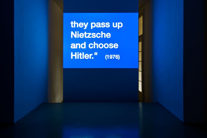Exhibition view: Group Exhibition,Clipping the Din,Krinzinger Projekte, Vienna (13 September–12 October 2019). Courtesy Galerie Krinzinger.