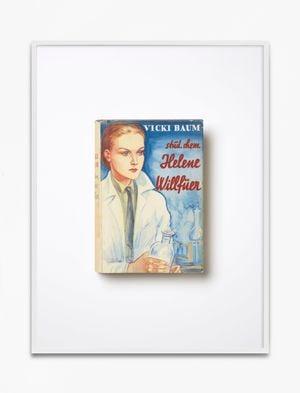 Vicki Baum, stud. chem. Helene Willfüer, 1928, 71.-80. Tausend, Ullstein Verlag, Berlin by Annette Kelm contemporary artwork print