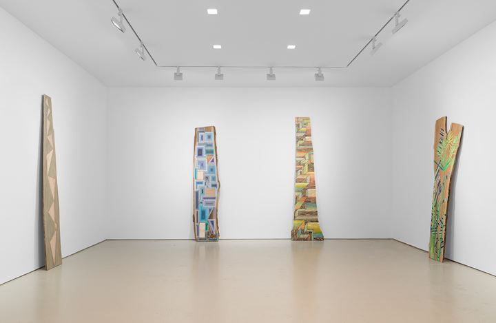 Exhibition view: Jason Middlebrook, Miles McEnery Gallery, 520 West 21stStreet, New York (14 March–13 April 2019). Courtesy Miles McEnery Gallery.