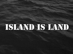 Island is Land by Map Office contemporary artwork
