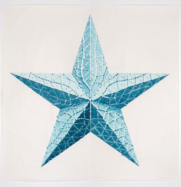 No Estrella Azul by Dagoberto Rodríguez contemporary artwork
