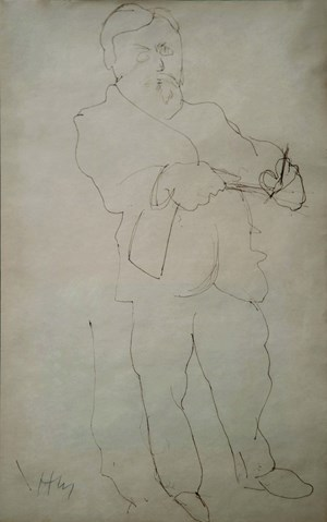 Self-Portrait by Henri Matisse contemporary artwork