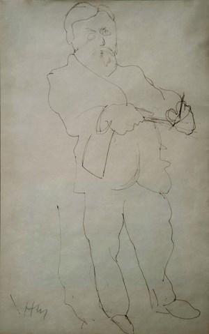 Self-Portrait by Henri Matisse contemporary artwork