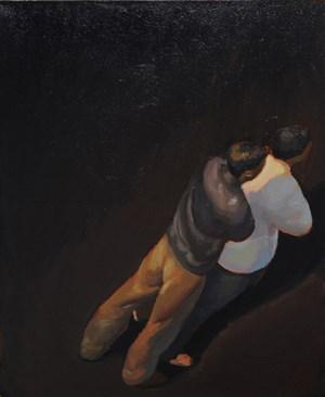 Onlookers No.1《无题(围观1)》 by Hui Zhang contemporary artwork