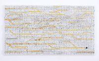 Traffic 1802 (yellow) by Katsumi Hayakawa contemporary artwork works on paper, sculpture, print