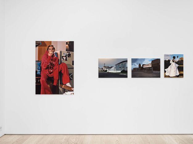 Exhibition view: Lena Johansson, Dreamland Welcomes You,Andréhn-Schiptjenko, Stockholm (27 May–3 July 2021). CourtesyAndréhn-Schiptjenko.