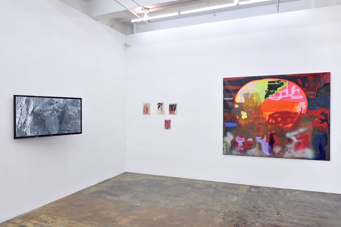 Exhibition view: Group Exhibition, Middle European Mysticism, Thomas Erben Gallery, New York (9 January–8 February 2020). Courtesy Thomas Erben Gallery.